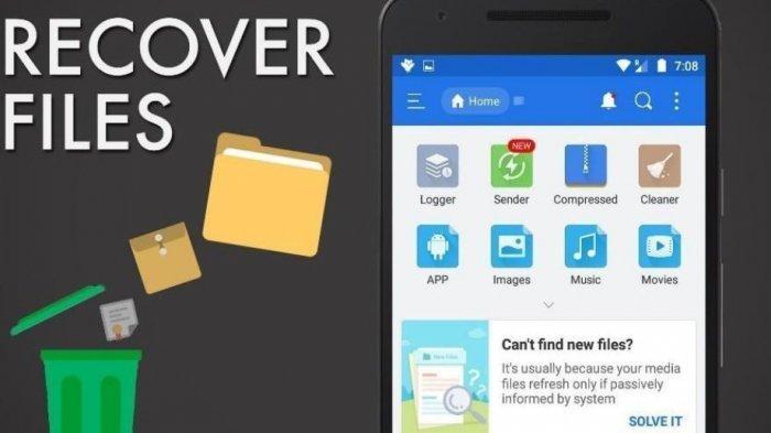 5 Aplikasi Android Untuk Mengembalikan Foto Di Hp Yang Sudah Terhapus Tribun Jogja