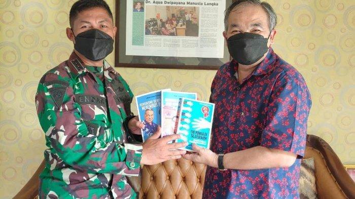 Kembali ke Kodam IV/Diponegoro, Aqua Dwipayana Sharing Komunikasi dan Motivasi Brigif 4/Dewa Ratna