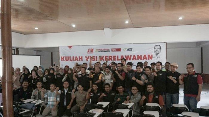 Akademi Relawan Indonesia dan ACT DIY Gelar Kuliah Visi Kerelawanan