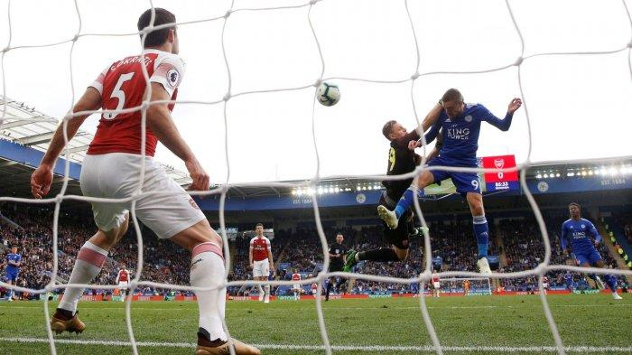Arsenal vs Leicester City - LINE UP dan Cara Live Streaming Liga Inggris