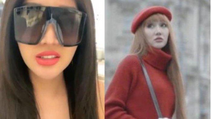 Kehebohan Lucinta Luna Mencoba Kacamata Dior Ala Kylie Jenner, Kok Jadi Mirip Tukang Ojek?