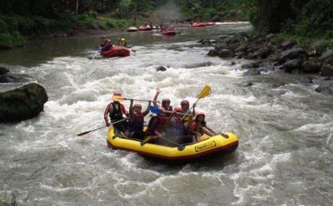 Wisata Arung Jeram Sungai Elo Kian Diminati Tribun Jogja