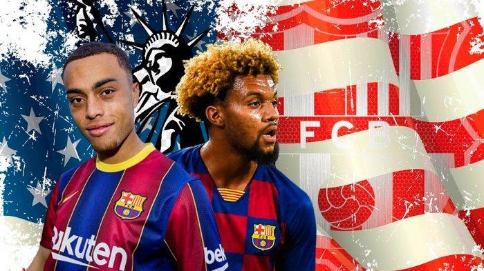 Asal Usul Darah Amerika Serikat Duo Pemain Barcelona, Konrad dan Sergino Dest