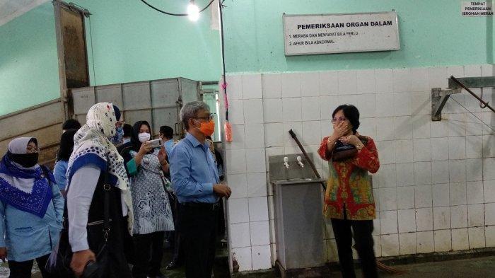 Asisten Perekonomian dan Pembangunan DIY Minta RPH Giwangan Jaga Higienitas