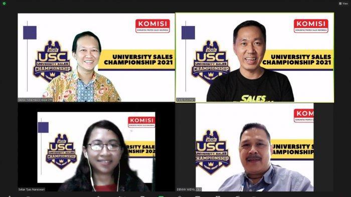 KOMISI Gelar University of Sales Competition Dalam Rangka HUT ke-76 RI