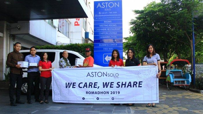 Aston Solo Hotel Bagikan Seratus Makanan untuk Berbuka