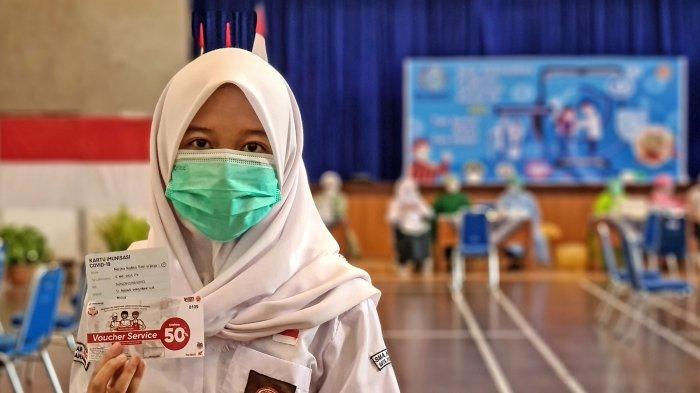 Program Honda Berbagi Berikan Vaksinasi untuk Pelajar SMA Negeri 6 Yogyakarta