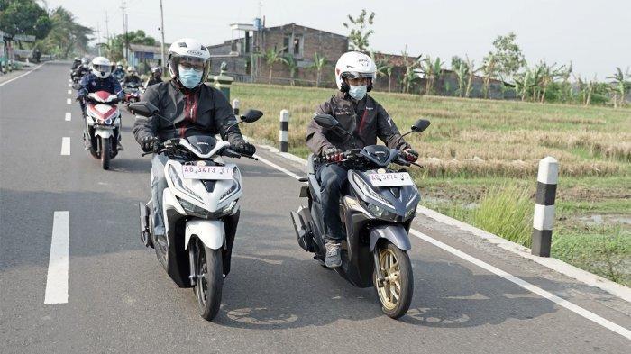 Gandeng Komunitas Honda Vario 125, Astra Motor Yogyakarta Gelar Bakti Sosial di Bulan Ramadhan