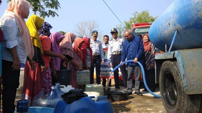 Harhubnas ke-48, Dinas Perhubungan Bantul Distribusikan Bantuan Air Bersih ke Dlingo dan Imogiri