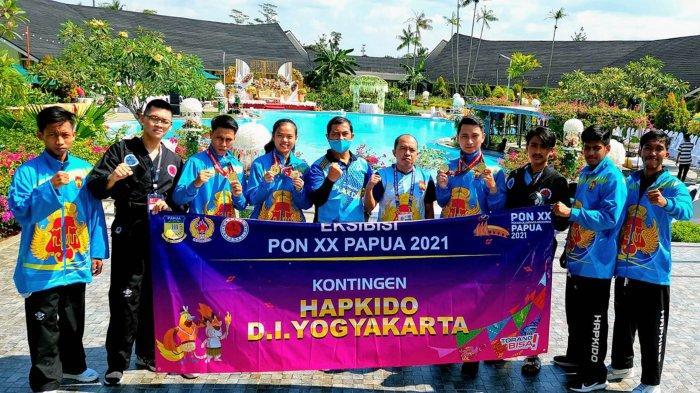 Hapkido DIY Raih 3 Medali Emas di PON XX Papua