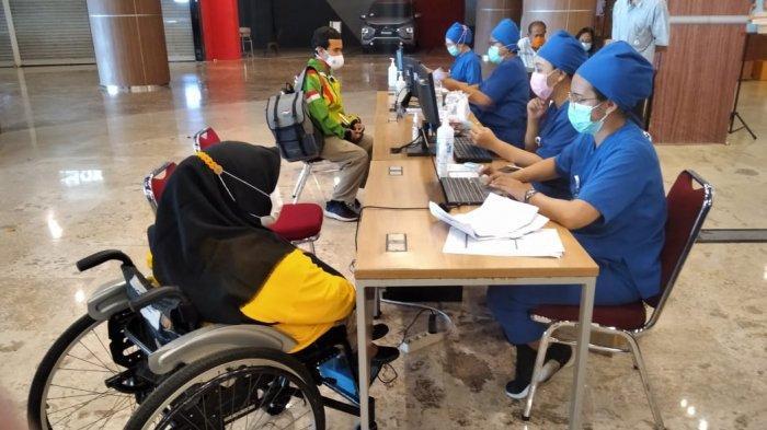 Sebanyak 100 Atlet NPC Peparnas DIY Ikuti Vaksinasi Covid-19