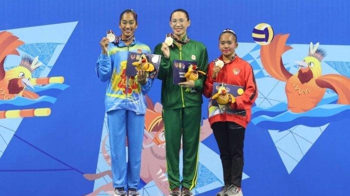Atlet Renang Artistik DIY, Nabilla Umarella Sesuai Target Sabet Medali Perak di PON XX Papua