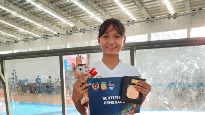 Aurelia Nariswari Tambah Medali Perunggu Bagi DIY di Ajang PON XX Papua Cabor Sepatu Roda