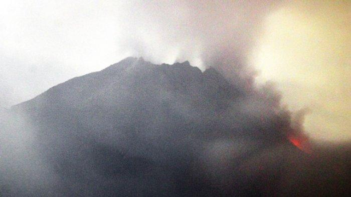 Aktivitas Terkini Gunung Merapi:  Awan Panas Guguran Meluncur Sejauh 2 Kilometer