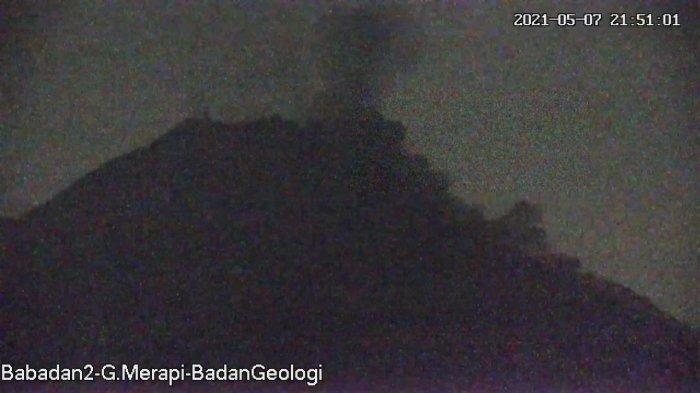 UPDATE Gunung Merapi 8 Mei 2021, Awan Panas Guguran Terjadi Tadi Malam, Jarak Luncur 1,5 Km
