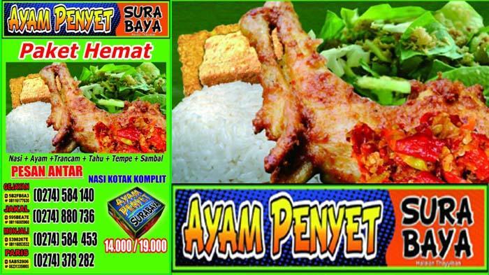 Makan Enak Banyak Pilihan di Ayam Penyet Surabaya - Tribun Jogja