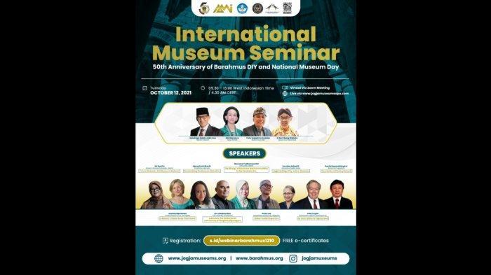 Yogyakarta Tuan Rumah Peringatan Hari Museum Indonesia 2021