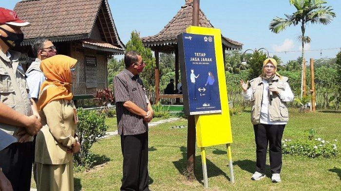 Gerakan BISA, BOB Berikan Dukungan Peralatan ke Destinasi Wisata Terdampak Pandemi di Magelang