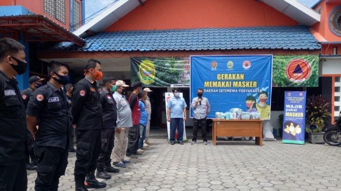 Antisipasi Klaster Pilkada Bantul,75 Ribu Masker Dibagikan ke Penjuru Desa