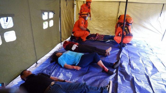 DPD PDI Perjuangan DIY Gelar Simulasi Penanganan Bencana