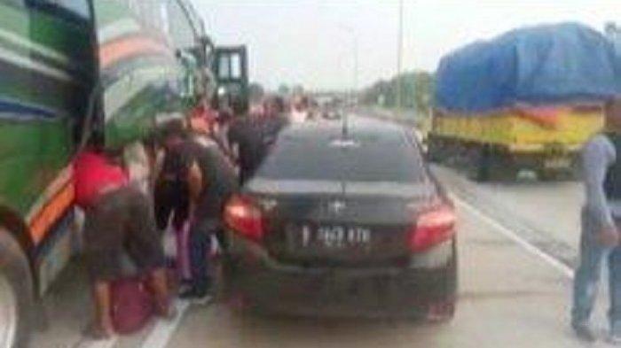 Bak Film Action, Polisi di Lampung Terlibat Kejar-kejaran dengan Bus Pembawa Sabu-sabu 10 Kg