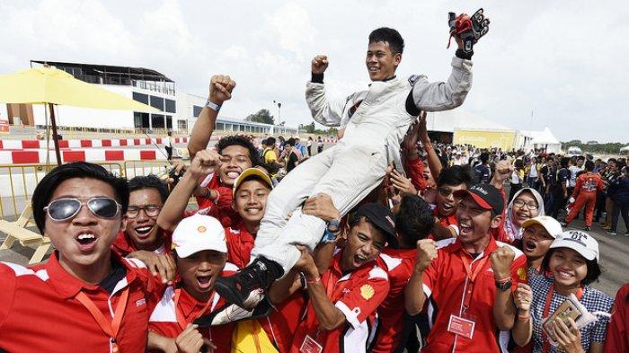 Balap Mobil Hemat Energi Driver's World Championship Regional Asia, Tim Indonesia Sapu Bersih Juara