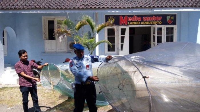 Lanud Adisutjipto Pantau Aktivitas Balon Udara yang Bisa Membahayakan Dunia Penerbangan