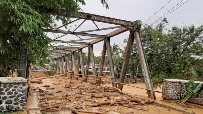 Banjir Bandang di Lebak Banten, Tiga Tewas dan Sejumlah Jembatan Putus