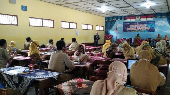 Bank BPD DIY Gandeng Dinas Pendidikan Kabupaten Bantul Sosialisasikan Mobile Banking