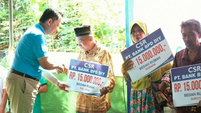 CSR Bank BPD DIY,Bantu Bedah Rumah di Kulon Progo