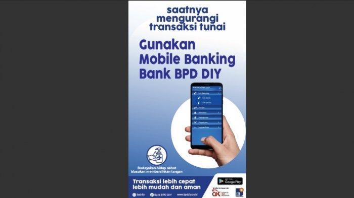 Bank BPD DIY Anjurkan Nasabah Lakukan Transaksi Non-Tunai di Aplikasi BPD DIY Mobile