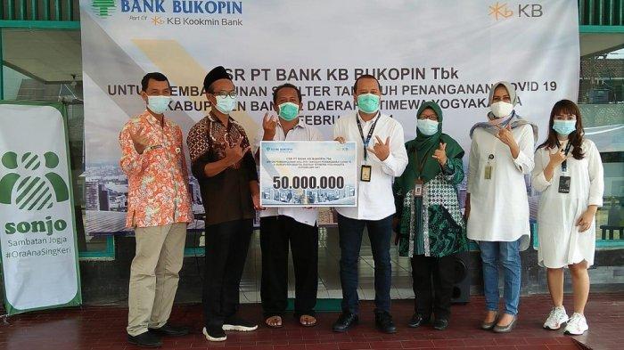 Bank Bukopin Salurkan CSRuntuk Pembangunan Shelter Tangguh Penanganan COVID-19