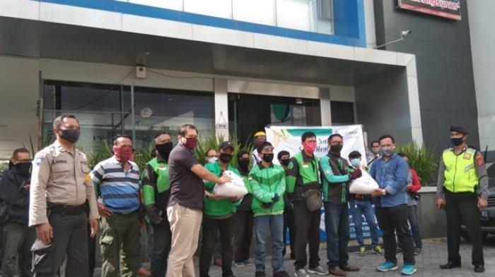 FIF Group Yogyakarta Salurkan Bantuan 200 Paket Sembako Kepada Driver Ojol