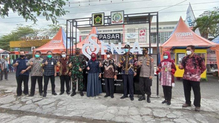 Bantu Pemulihan Ekonomi Masyarakat, Disdagin Kulon Progo Resmikan Pasar Ssenja