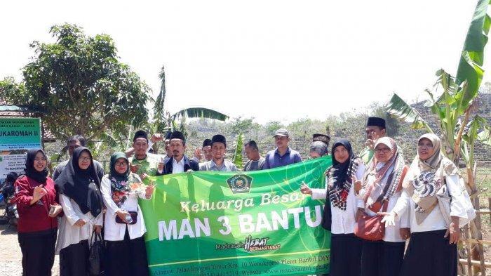MAN 3 Bantul Bantu Air Bersih di Desa Wuni Giricahyo Purwosari