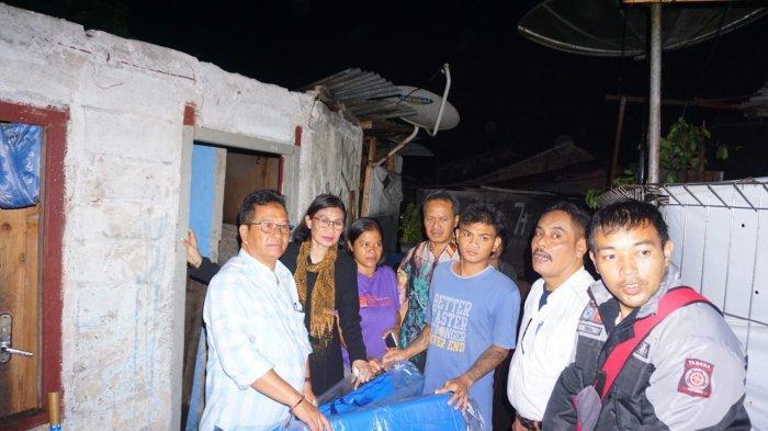 Pemkot Magelang Serahkan Bantuan ke Korban Angin Kencang