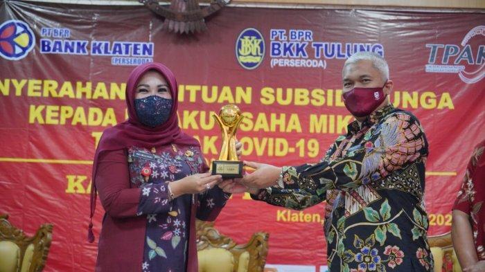 Pemkab Klaten Beri Subsidi Bunga Kepada Pelaku Usaha Mikro yang Terdampak Covid-19