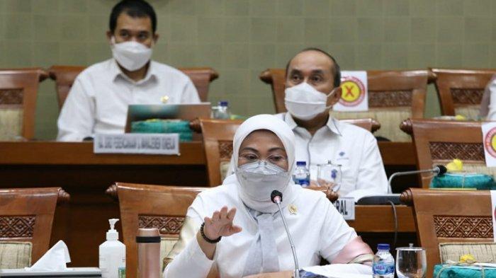 Menteri Ketenagakerjaan Republik Indonesia Ida Fauziyah