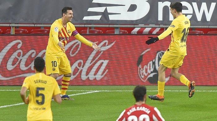 Komentar Ronald Koeman Barca Menang 2-3 Lawan Athletic Bilbao, Messi-Pedri Klop