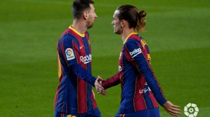 Barca Naik Peringkat Dua Liga Spanyol, Salip Real Madrid, di Bawah Atletico