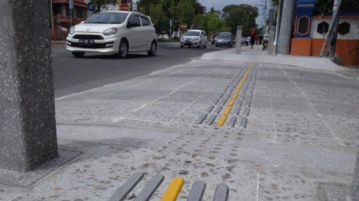 Pemkot Yogya Pastikan Pencurian Guiding Block di Jalan Suroto akan Dilaporkan ke Polisi