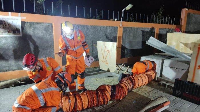 Basarnas Gelar Latihan SAR 2021 Bencana Gempa Bumi
