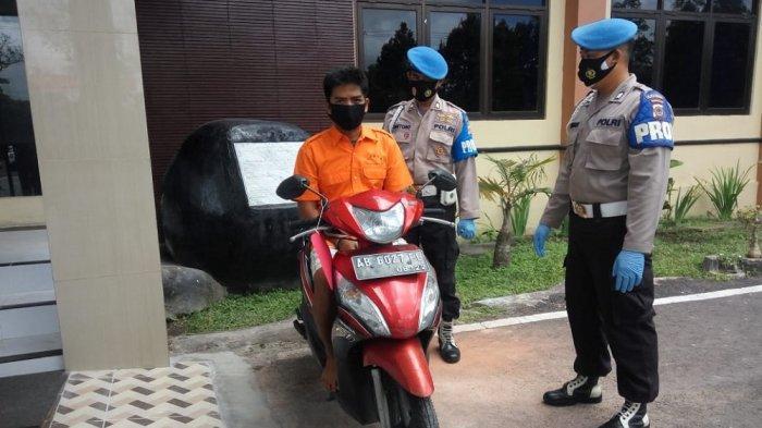 Bawa Kabur Motor Tetangga, Pria Bantarjo Diamankan Polres Kulon Progo