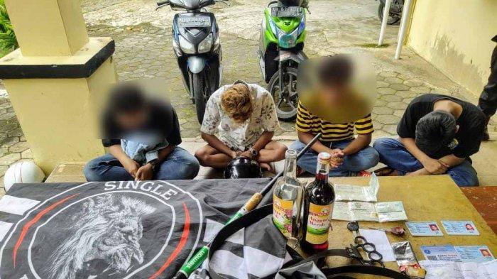 Bawa Sajam dan Obat Daftar G, 3 Remaja Diringkus Polisi di TPR Baron