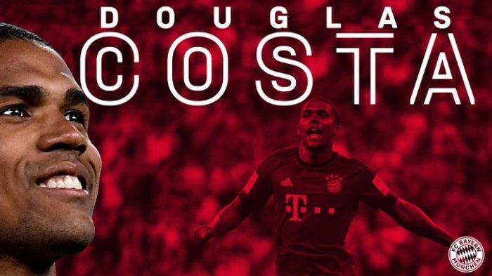 DOUGLAS Costa ke Bayern Munchen: Sayap The Bavarian Akan Makin Kuat
