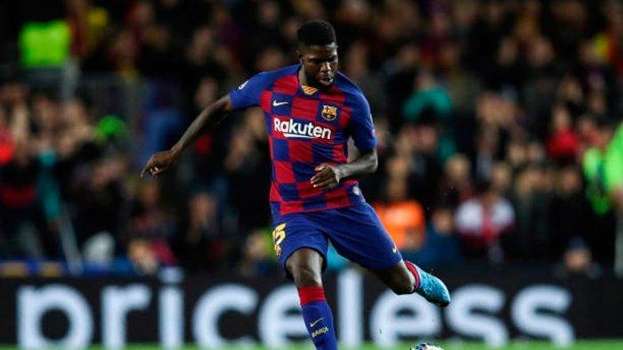 Rumor Transfer Pemain: Barcelona Akan Lepas Samuel Umtiti, Potensi Barter dengan Bek AC Milan