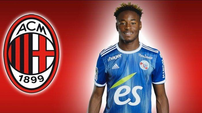 Bek tengah Strasbourg Mohamed Simakan incaran AC Milan