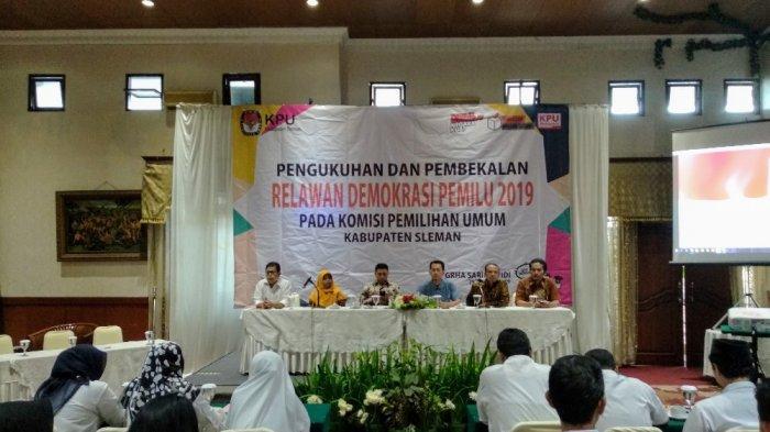 Bekerja Selama 3 Bulan, Relawan Demokrasi Akan Intens Sosialisasikan Pemilu 2019