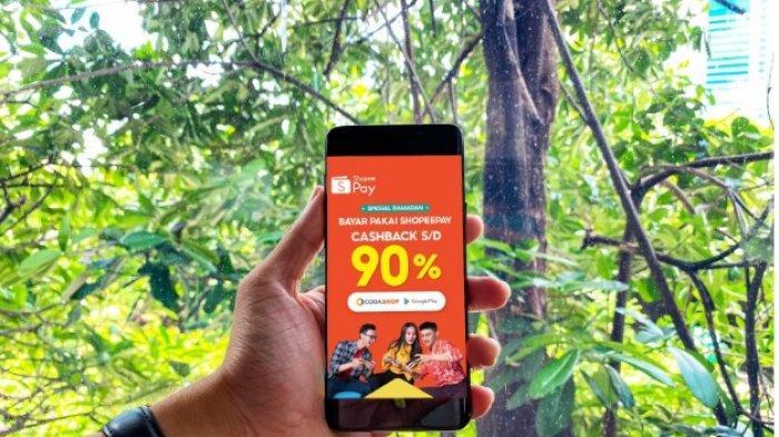 Kebutuhan Hiburan Meningkat, ShopeePay Berikan Cashback Hingga 90% di Codashop dan Google Play Store