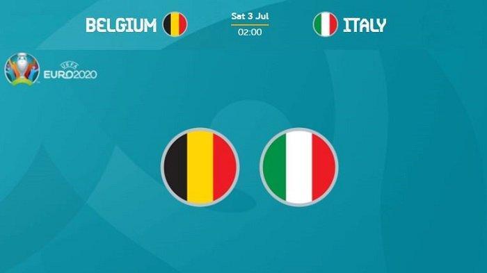 Belgia vs Italia, perempat final EURO 2020 - Timnas Italia berhadapan dengan Timnas Belgia di perempat final Piala Eropa pada Jumat malam pekan ini.